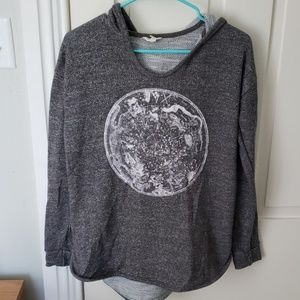 Aeropostale constellation long sleeve with hood